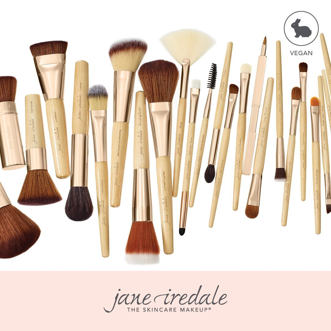 Jane Iredale cosmetic brushes